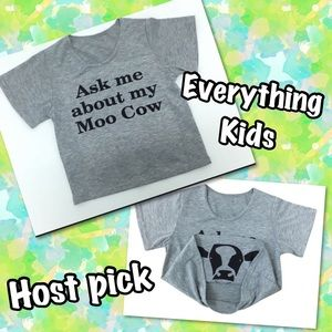 """Other - ADORBS🐮""""Ask Me About My Moo Cow"""" western trendy"""